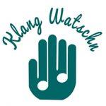 Logo Klangwatschn Hand und Noten