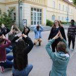 Klangwatschn spielen Teambuilding Spiel Billi Billi Bop
